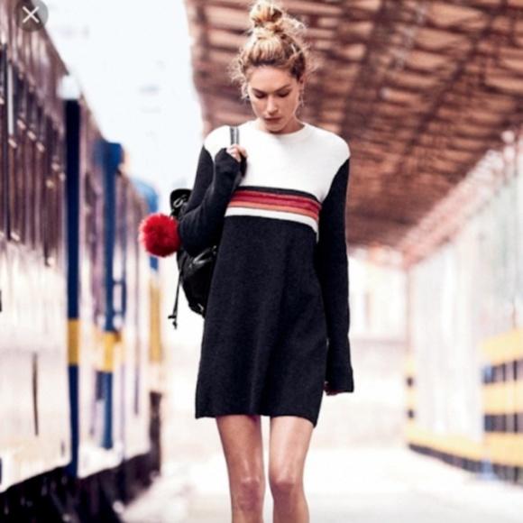 Free People Dresses & Skirts - NWT Free People Colorblock Mini Dress